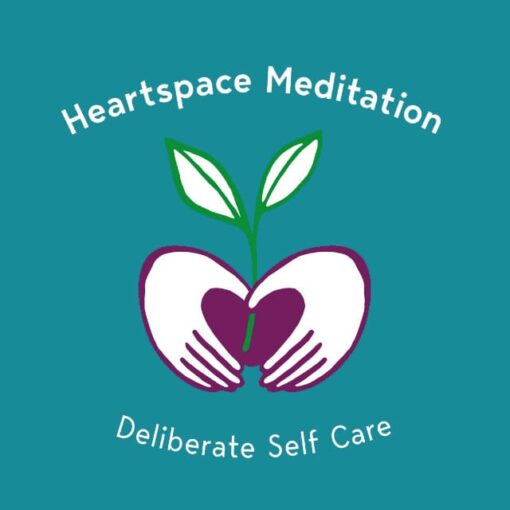 Kids Yoga and Meditation 640 Teal Logo Heartspace Meditation