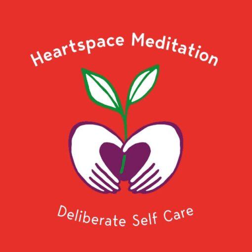 Medi Club 640 Red Logo Heartspace Meditation
