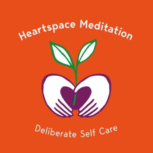 Retreats Orange Logo Heartspace Meditation