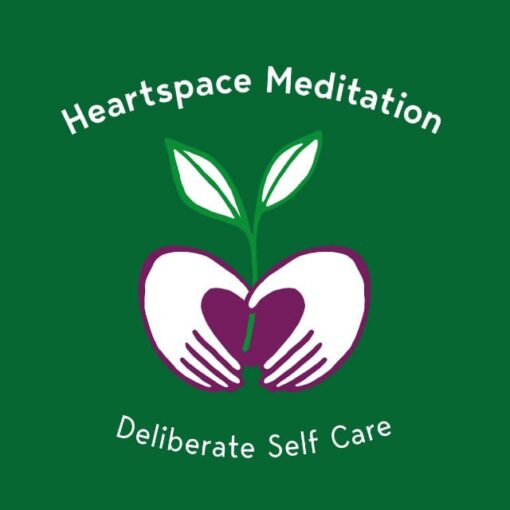 Soulful Sundown Green Logo Heartspace Meditation
